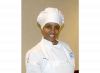 Culinary student in chef uniform