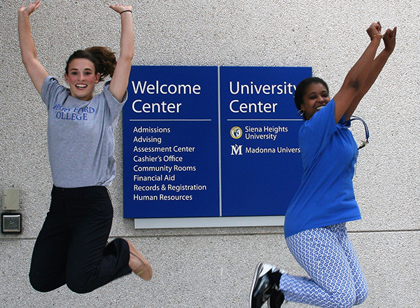 Tessa Raymond and Cynthia Brown are flying high with enthusiasm for Super Saturday.