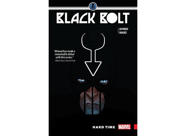 Black Bolt comic cover