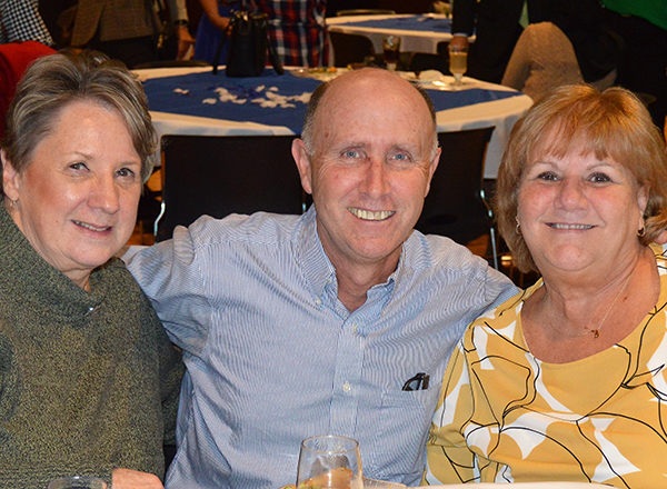 Mary Szymanski, Ken Donovan, Patty Sellers