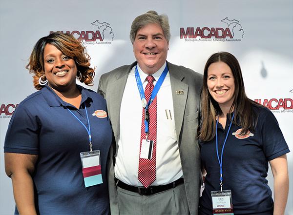 (L to R): Maya Calloway Richardson, Michael Nealon, Erin Yanke