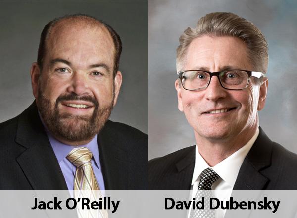 Left: Jack O'Reilly, Right: David Dubensky