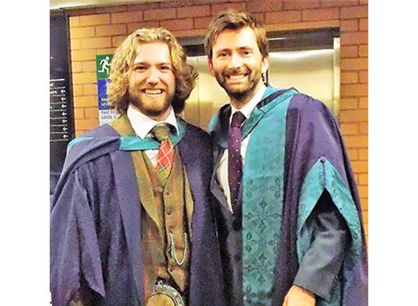 Timothy Pollack and David Tennant