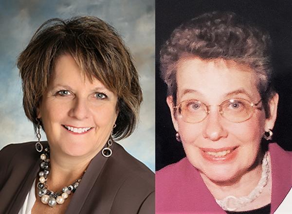 Susan Shunkwiler and Vivian Foster