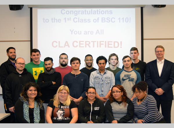 Students in First Supply Chain Management Class Pass National Test ...