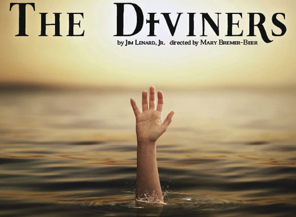The poster for HFC's production of The Diviners.
